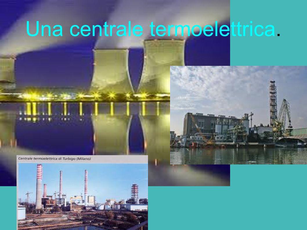 Una centrale termoelettrica.