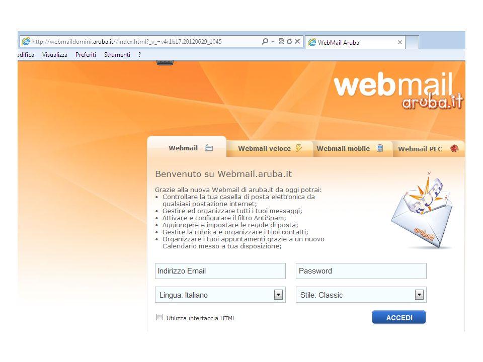 Lindirizzo e-mail è: nome.cognome@ismatteirecanati.it Password assegnata: cognome