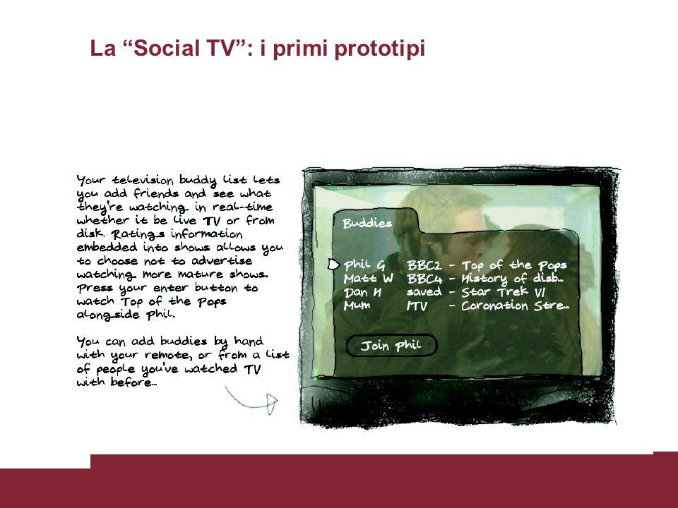 La Social TV: i primi prototipi Tom Coates