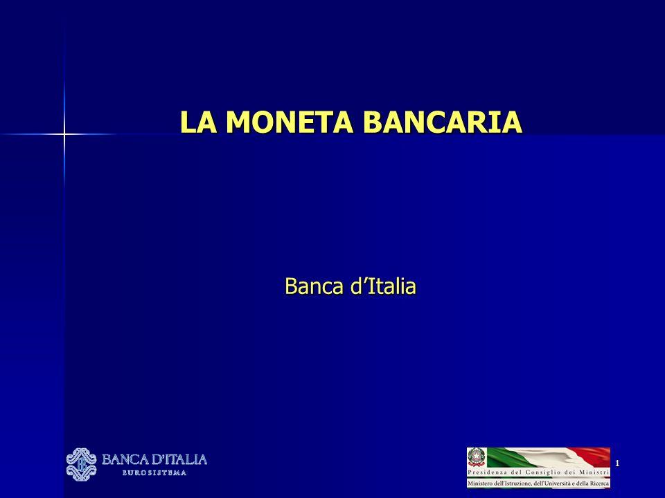 2 Le banche e la moneta bancaria Il conto corrente AGENDA