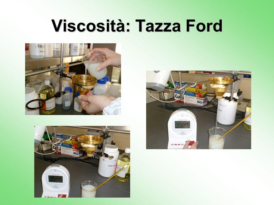 Viscosità: Tazza Ford