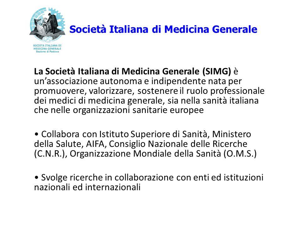 La Società Italiana di Medicina Generale (SIMG) è unassociazione autonoma e indipendente nata per promuovere, valorizzare, sostenere il ruolo professi