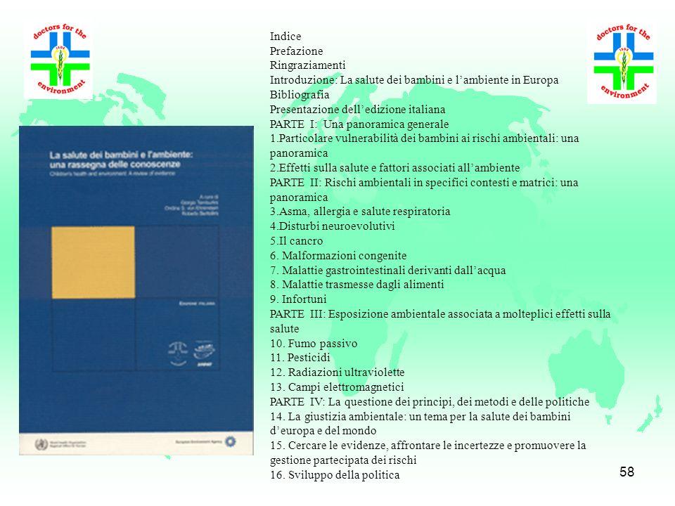 57 Indice Introduzione R. Romizi Significato ed evoluzione del concetto di mortalità evitabile nella letterature internazionale A. Barchielli Material