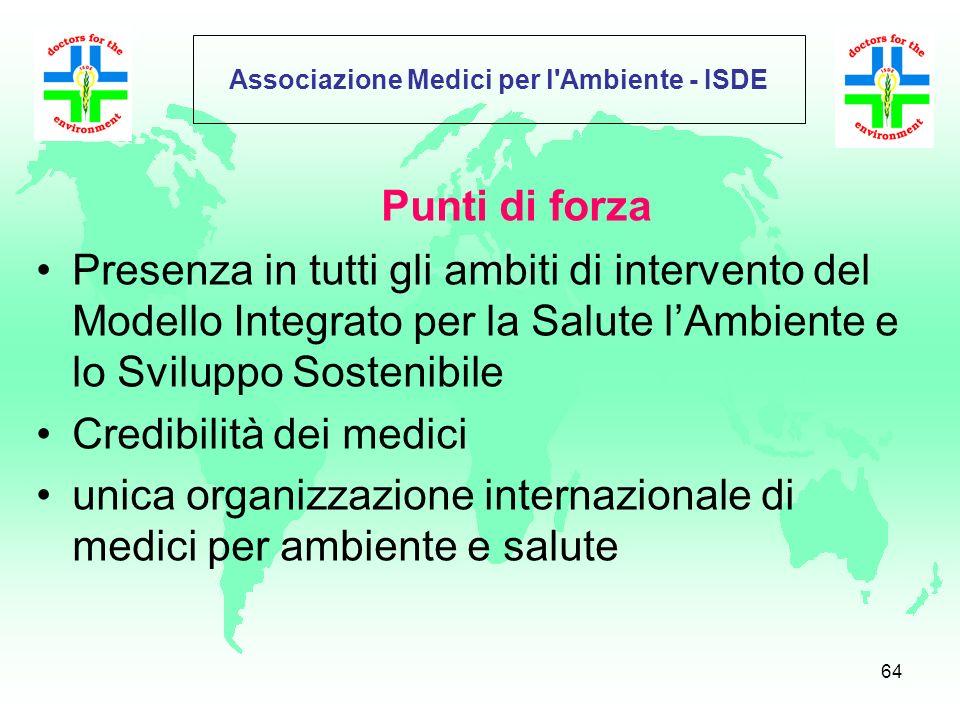 63 ISDE NEWS Newsletter dellISDE Italia che informa, dallaprile 2005, con una cadenza di due volte a settimana, i propri soci, partner e quanti potenz
