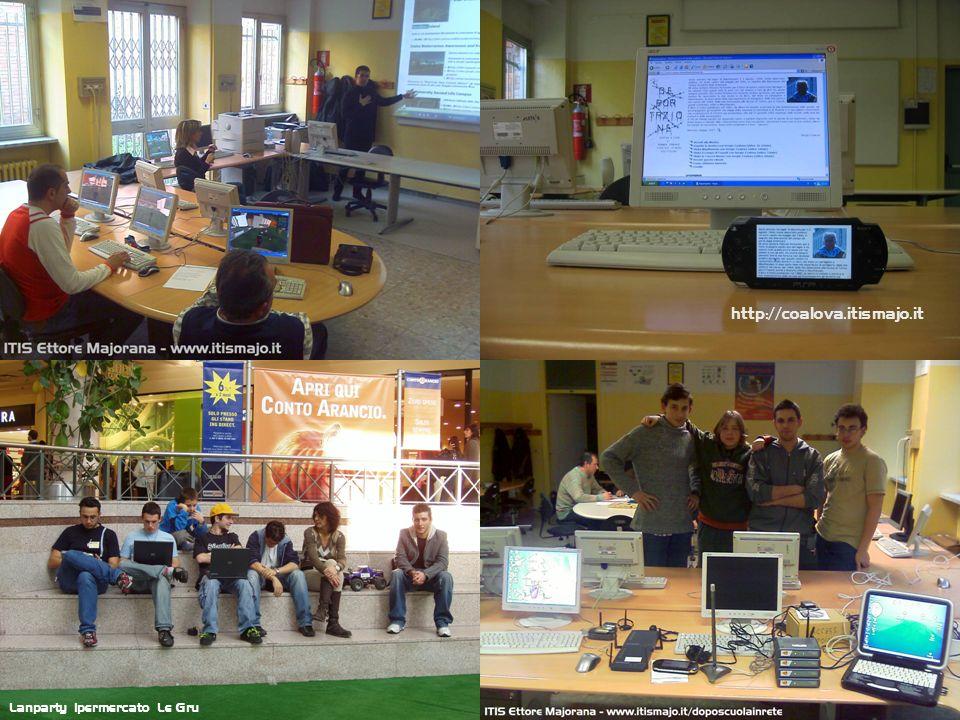 Lanparty ipermercato Le Gru http://coalova.itismajo.it