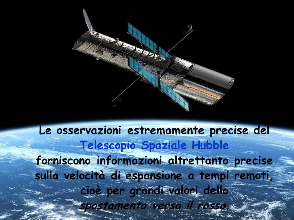 Le osservazioni estremamente precise del Telescopio Spaziale Hubble forniscono informazioni altrettanto precise sulla velocità di espansione a tempi r