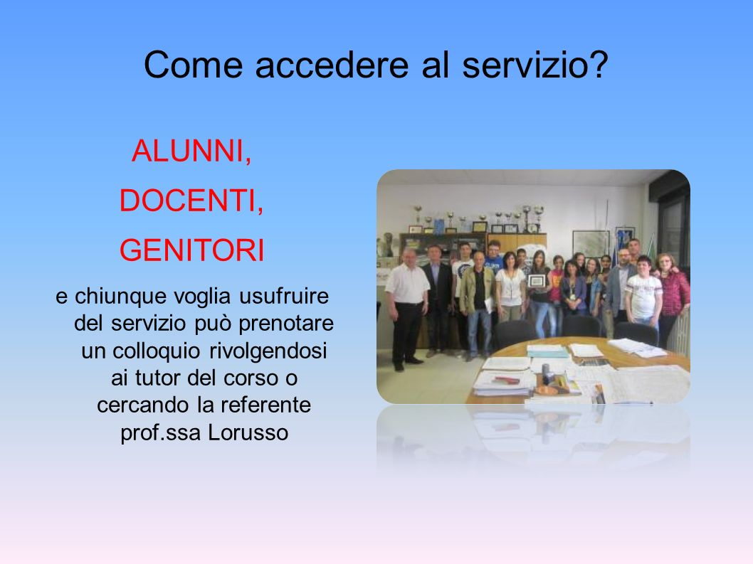 Gruppo di lavoro Dott.