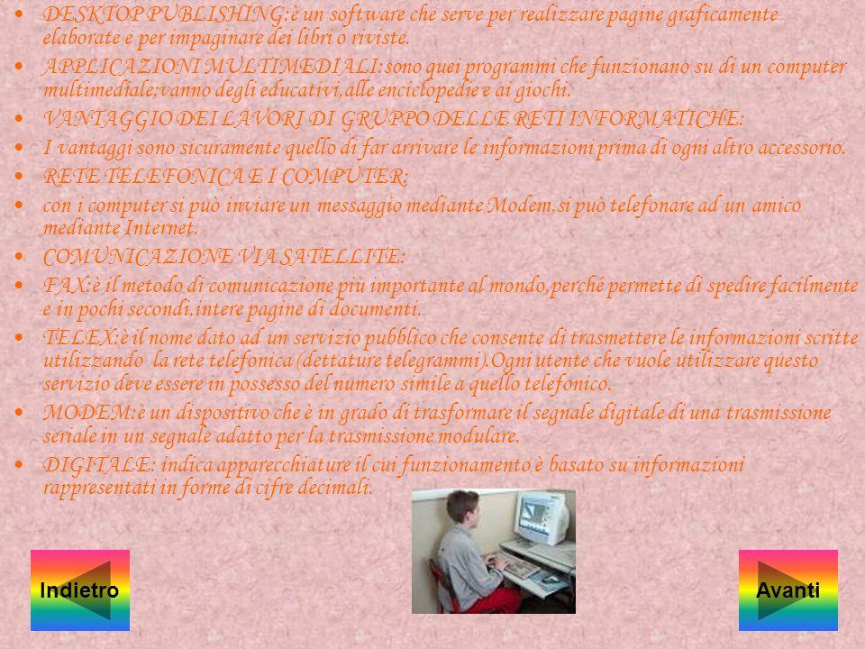 ELENCARE ALCUNI PROGRAMMI APPLICATIVI: WORD:programma di scrittura; EXCEL:foglio elettronico CAD:programma di disegno DATE BASE:programma di archivio.