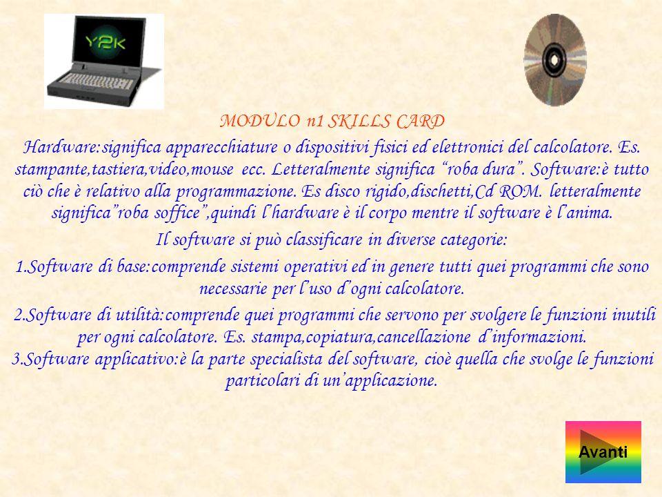 Diapositive 1 Hardware e Software 2 Mainframe e Mini Computer 3 Personal Computer 4 La CPU, La Ram e Rom 5 La Tastiera 6 I Monitor e I Drive 7 Cancell