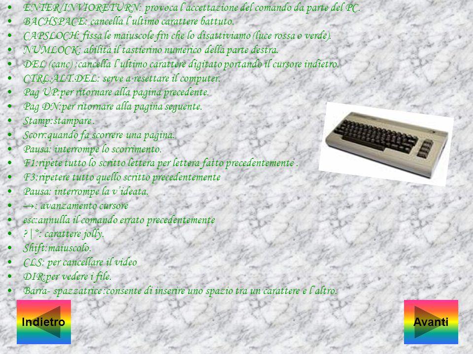 ELEMENTO DI BASE DI UN COMPUTER: CPU(Central Processing Unit):E la parte intelligente della macchina che esegue i programmi e coordina il funzionament
