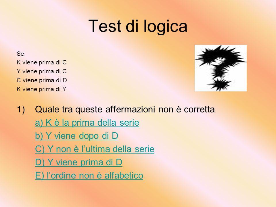 DOMANDA N°4 Assegnati i cateti trovare lipotenusa. C=3 c =4 i =6 i=12 i=1 i=5