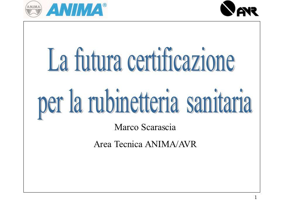 1 Marco Scarascia Area Tecnica ANIMA/AVR