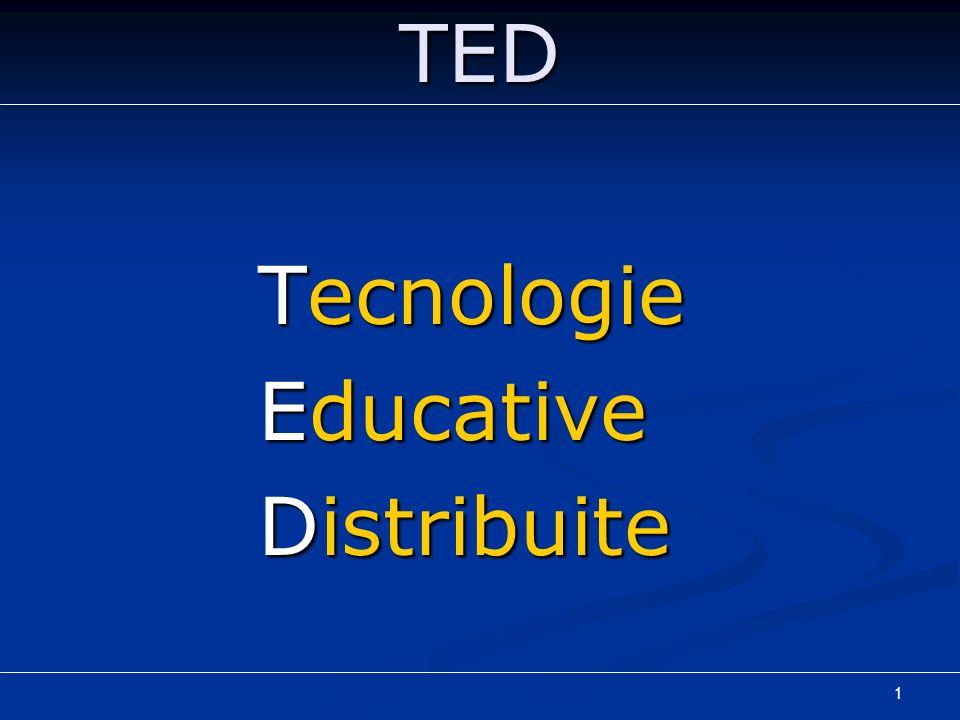 1TED Tecnologie Educative Distribuite