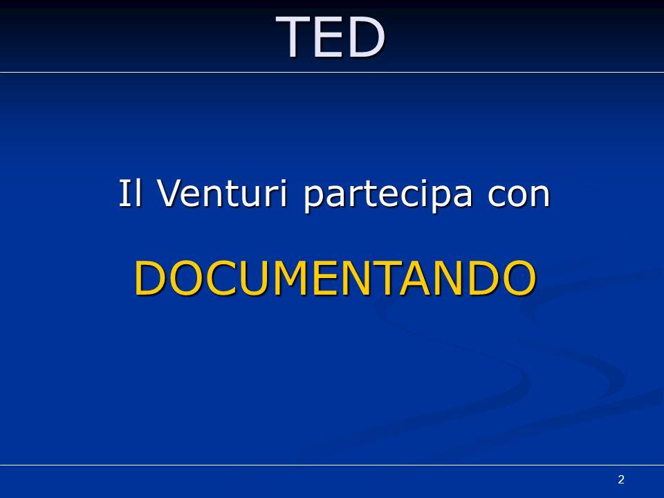 2TED Il Venturi partecipa con DOCUMENTANDO