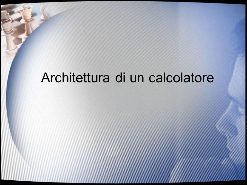 2 Indice Sistema di Elaborazione La macchina di Von Neumann –Memoria –CPU –Bus –Interfacce Esempio –Lalgoritmo –Il programma –Fasi di esecuzione di unistruzione