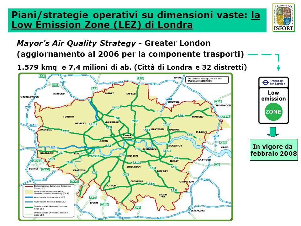 MIGLIORARE LA QUALITÀ DELLARIA E ABBATTERE LINQUINAMENTO IN GENERALE Per il biossido di azoto (NO2): 50% delle vie trafficate sotto la soglia di 40µg/m3 di concentrazione al 2013 100% delle vie sotto la soglia (40µg/m3) di protezione della salute al 2020 Per le emissioni di gas serra (CO2): - 25% delle emissioni dovute alla circolazione dentro Parigi al 2013 - 60% delle emissioni dovute alla circolazione dentro Parigi al 2020 AUMENTARE LA SICUREZZA DEGLI SPOSTAMENTI - 55% di incidentati e - 65% di morti entro il 2013 - 70% di incidentati e - 70% di morti entro il 2020 Fonte: Project de Plan de Déplacements de Paris, febbraio 2007 Lapproccio incrementale del Piano della Mobilità di Parigi (segue)
