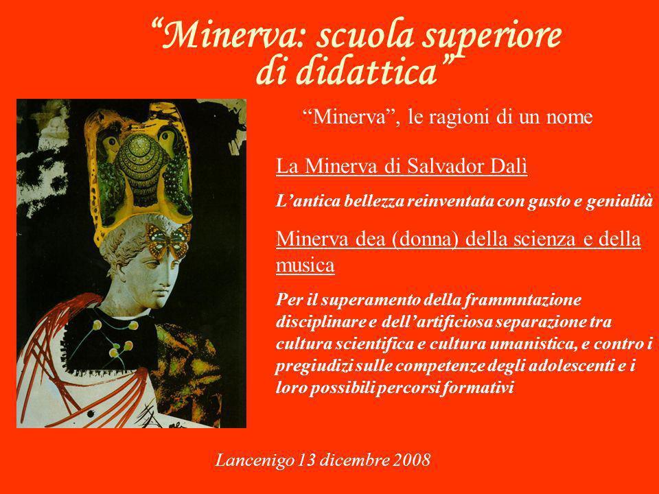 Minerva: scuola superiore di didattica Lancenigo 13 dicembre 2008 Aspetta il Tuo contributo Grazie