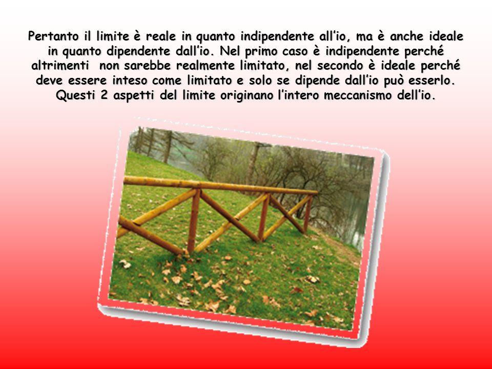 Pertanto il limite è reale in quanto indipendente allio, ma è anche ideale in quanto dipendente dallio.