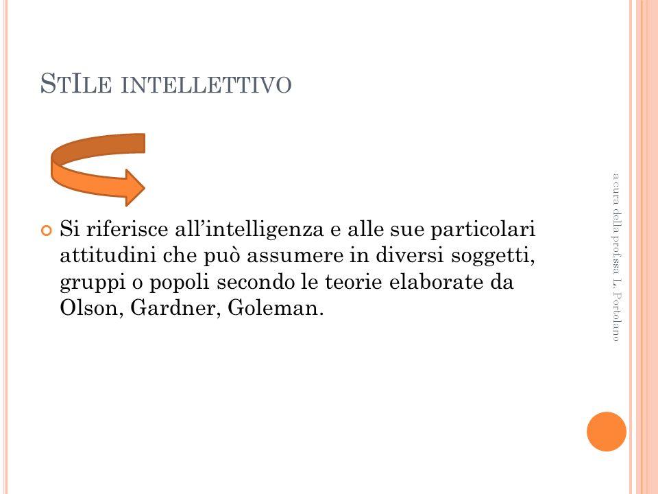 CO.CLI.T.E. Cognitivo Clinico Trattamento Educativo a cura della prof.ssa L. Portolano