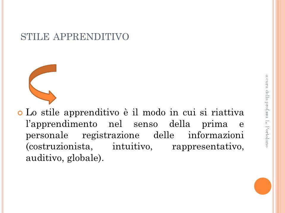 CLINICO Approccio globale alla persona a cura della prof.ssa L. Portolano