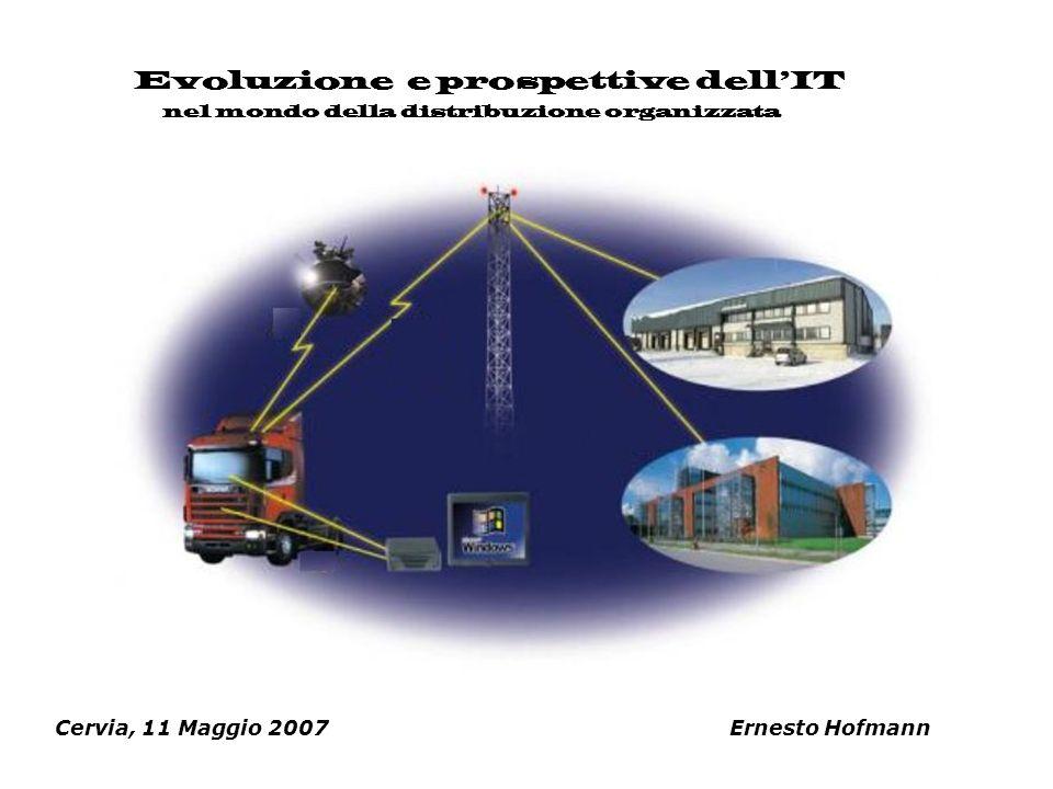 Cervia, 11 Maggio 2007 Ernesto Hofmann Evoluzione e prospettive dellIT nel mondo della distribuzione organizzata