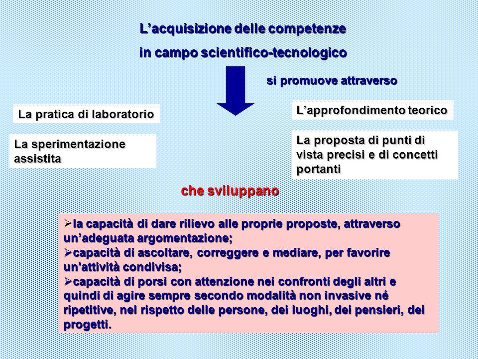 Valenza operativa Valenza esperenziale Il curricolo è un percorso di azioni reali che devono poter essere riconosciute nei loro risultati e nel loro processo di sviluppo.