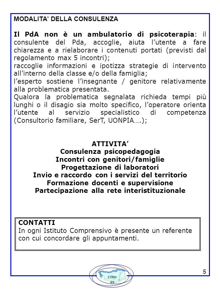 DISTRETTO 49 ISTITUTO COMPRENSIVO 1 Centro Territoriale Risorse Handicap