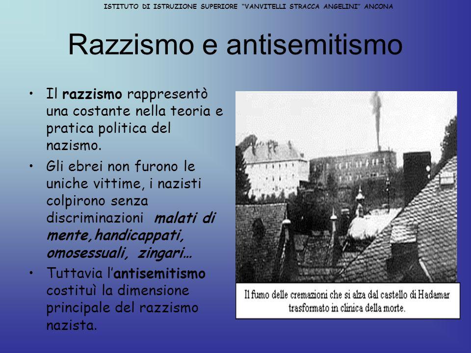 ISTITUTO DOI ISTRUZIONE SUPERIORE VANVITELLI STRACCA ANGELINI ANCONA HITLER AL POTERE Nel 1932 il partito nazista, in un clima di grande incertezza economica ( 6 ml.