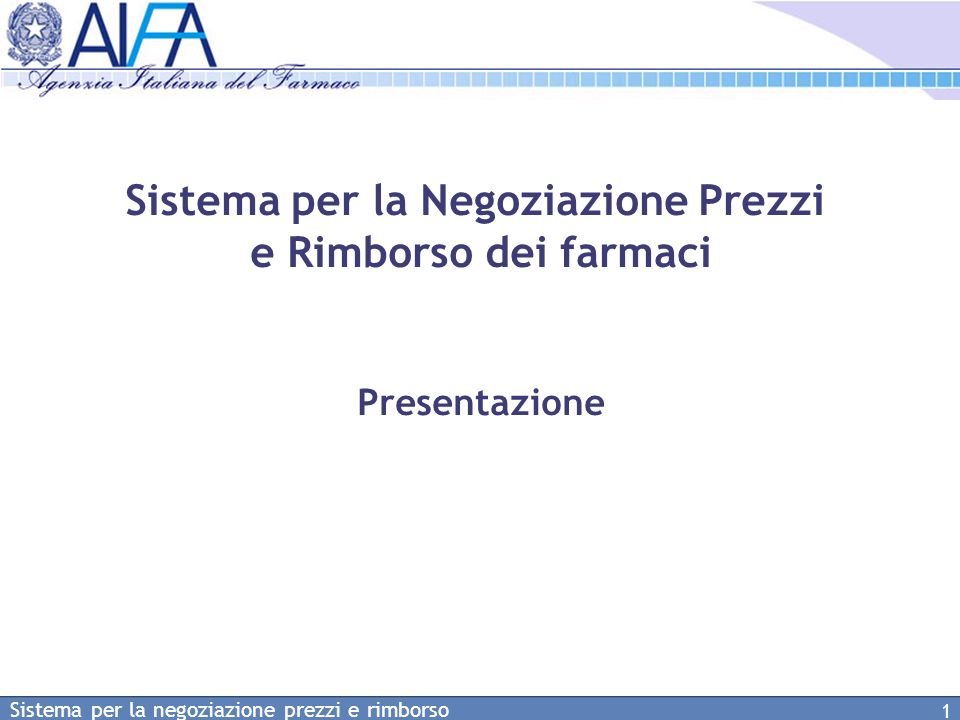 Sistema per la negoziazione prezzi e rimborso 22 Monitoraggio in tempo reale dello stato dei dossier presentati Lista delle domande di negoziazione (3)