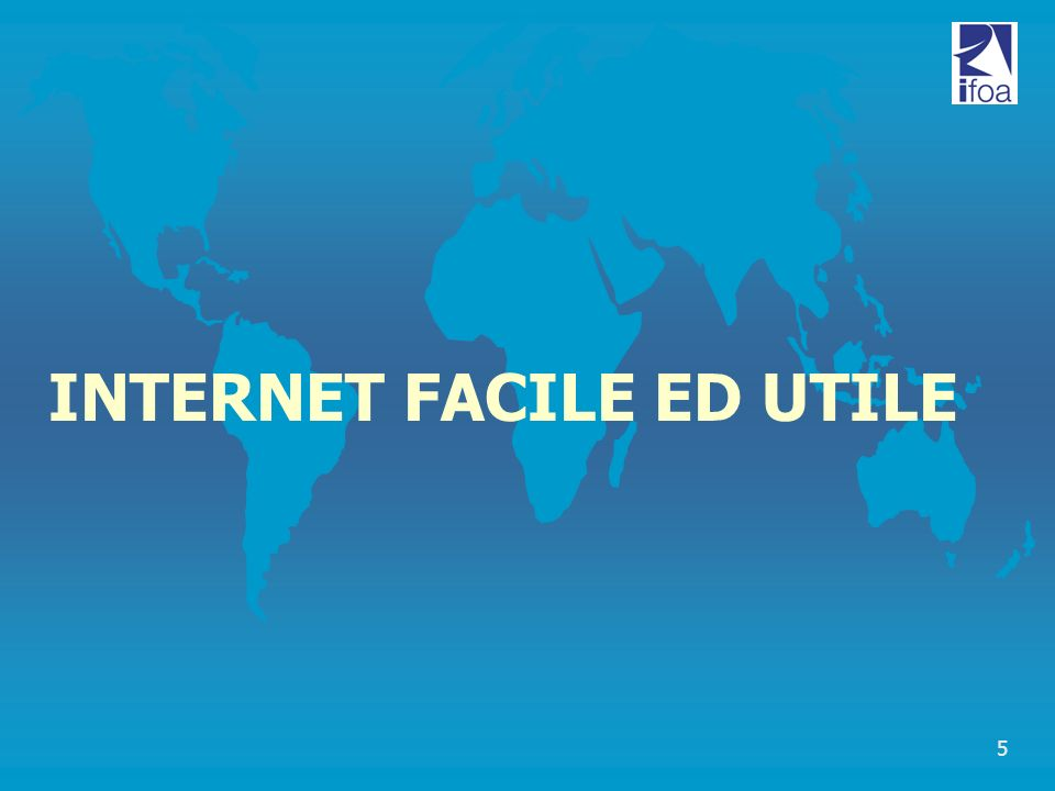 5 INTERNET FACILE ED UTILE