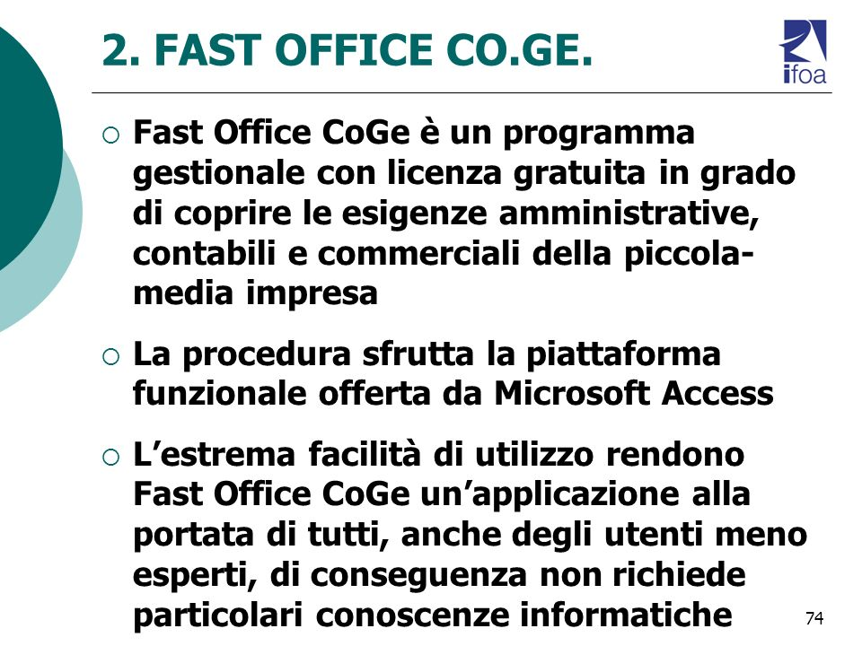 74 2.FAST OFFICE CO.GE.