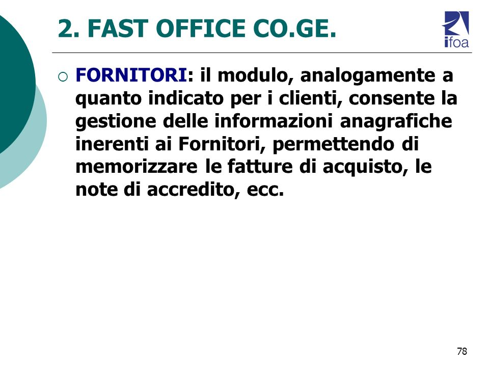 78 2.FAST OFFICE CO.GE.