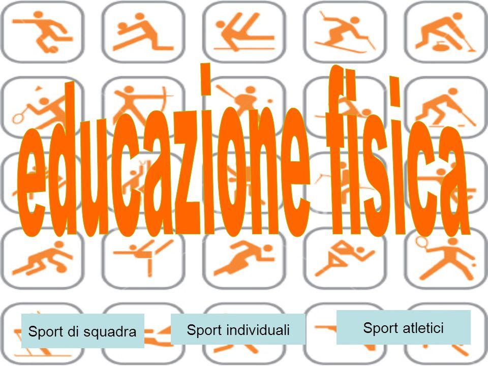 Sport di squadra Sport atletici Sport individuali