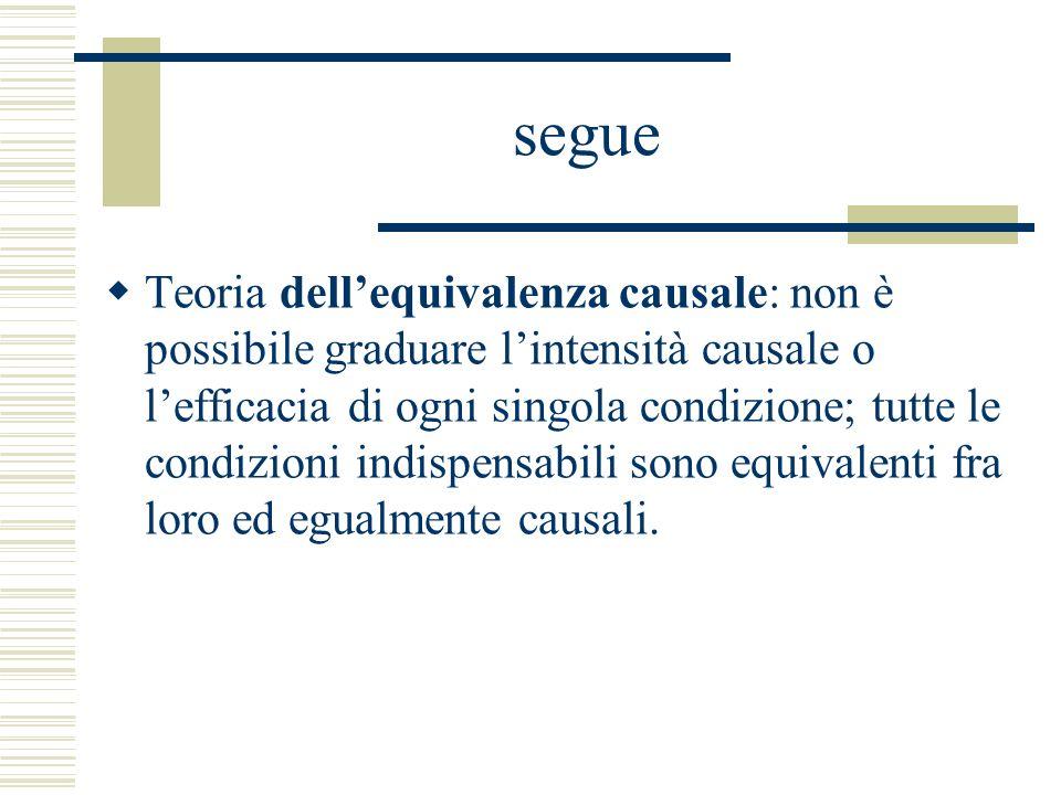 segue Tendenziale dissolvimento degli elementi naturalistici nel mero elemento normativo rappresentato dalla posizione di garanzia