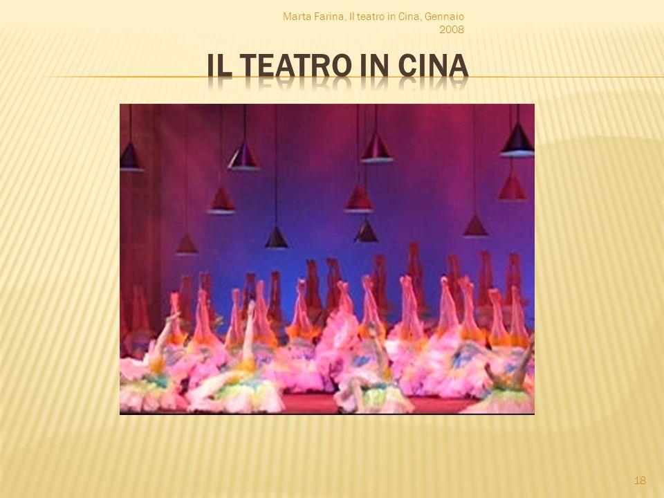 Marta Farina, Il teatro in Cina, Gennaio 2008 18