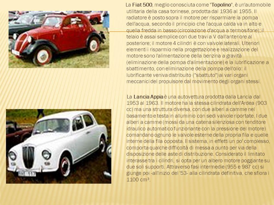 La Fiat 500, meglio conosciuta come