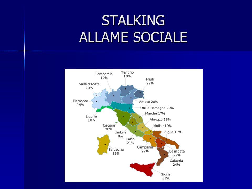 STALKING ALLAME SOCIALE