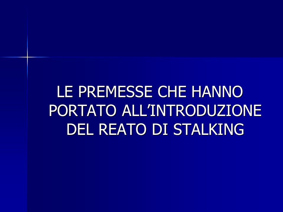CONCORSO DI REATI ART.612 BIS C.P.