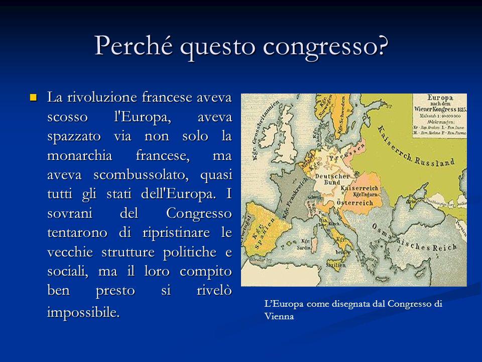 COSA SI DECISE .1. La Francia perse tutte le conquiste della Rivoluzione e di Napoleone 2.