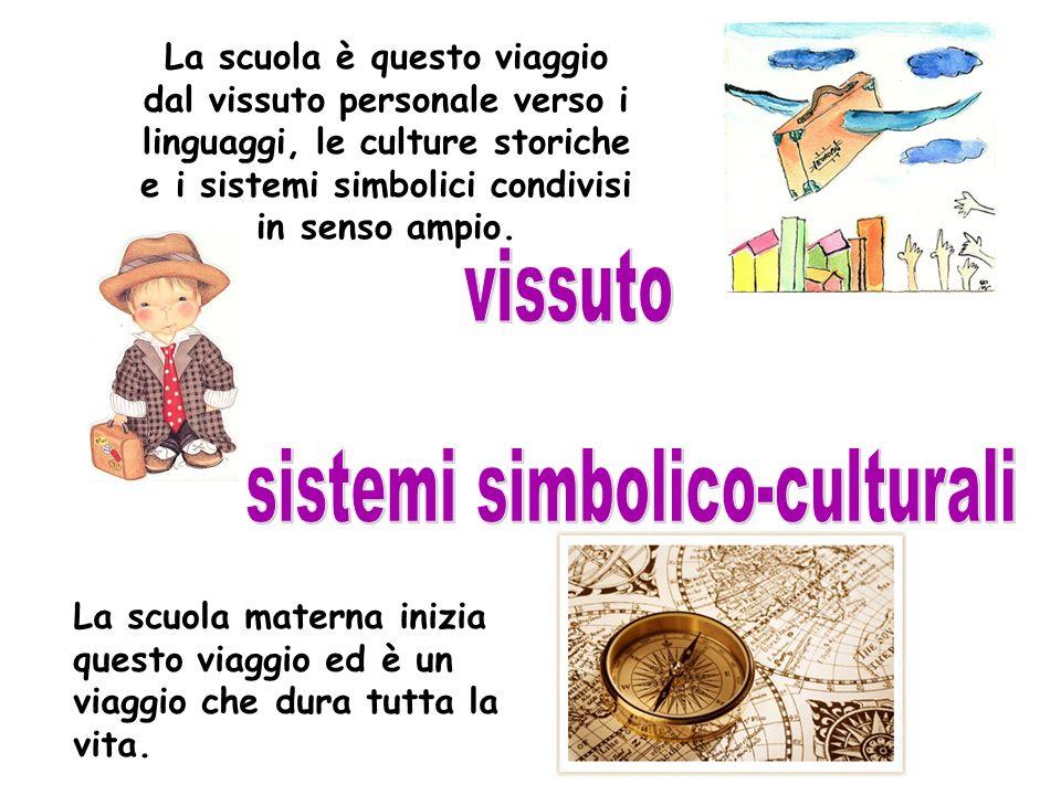 La scuola è questo viaggio dal vissuto personale verso i linguaggi, le culture storiche e i sistemi simbolici condivisi in senso ampio. La scuola mate