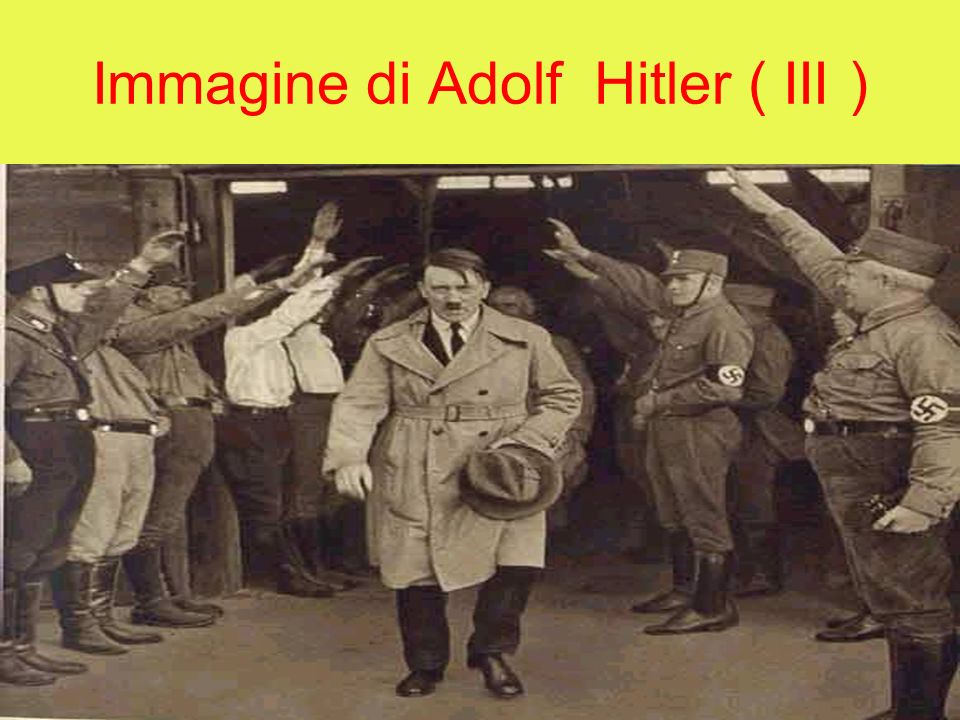 Immagine di Adolf Hitler ( III )