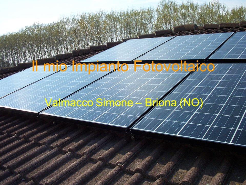 Il mio Impianto Fotovoltaico Valmacco Simone – Briona (NO)