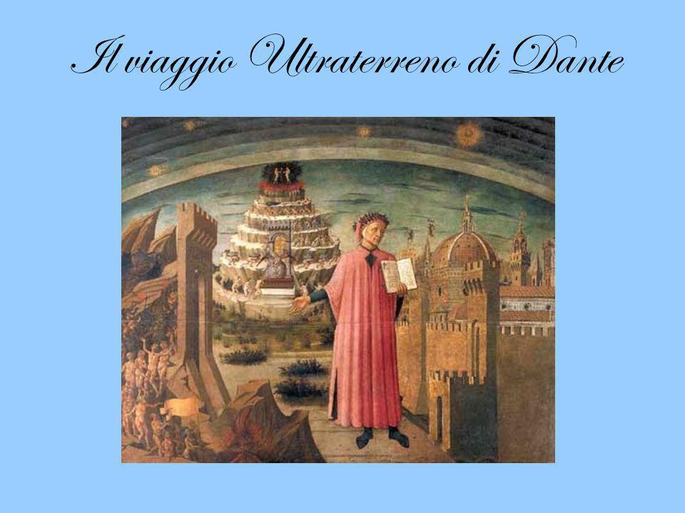 Il viaggio Ultraterreno di Dante