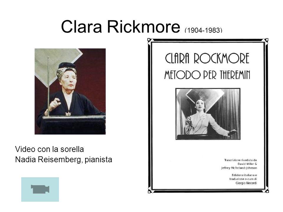 Clara Rickmore (1904-1983) Video con la sorella Nadia Reisemberg, pianista