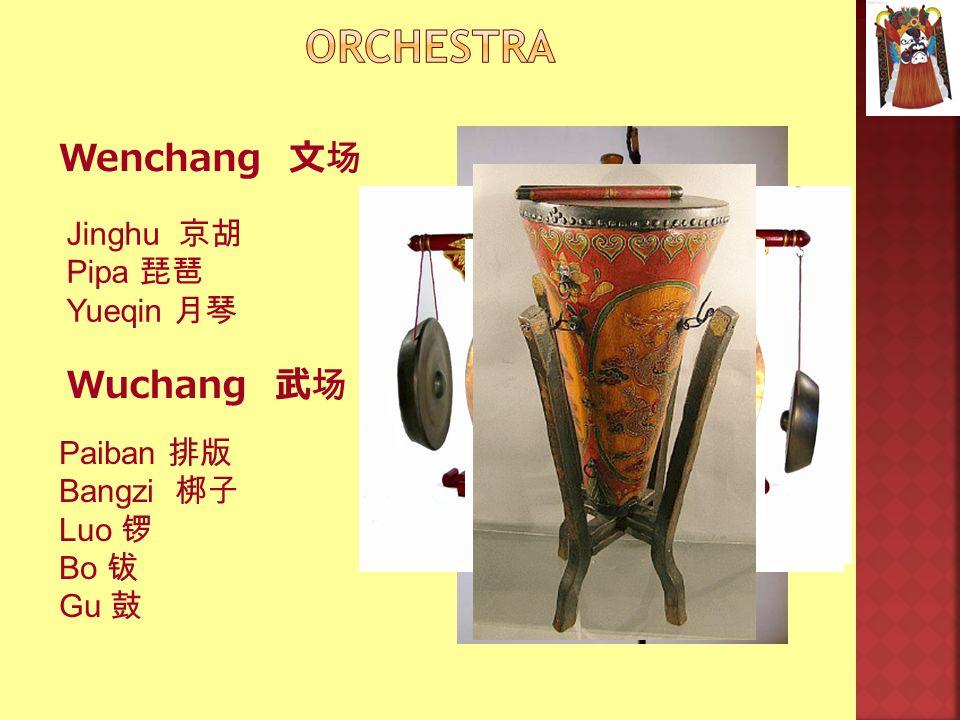 Wenchang Wuchang Jinghu Pipa Yueqin Paiban Bangzi Luo Bo Gu