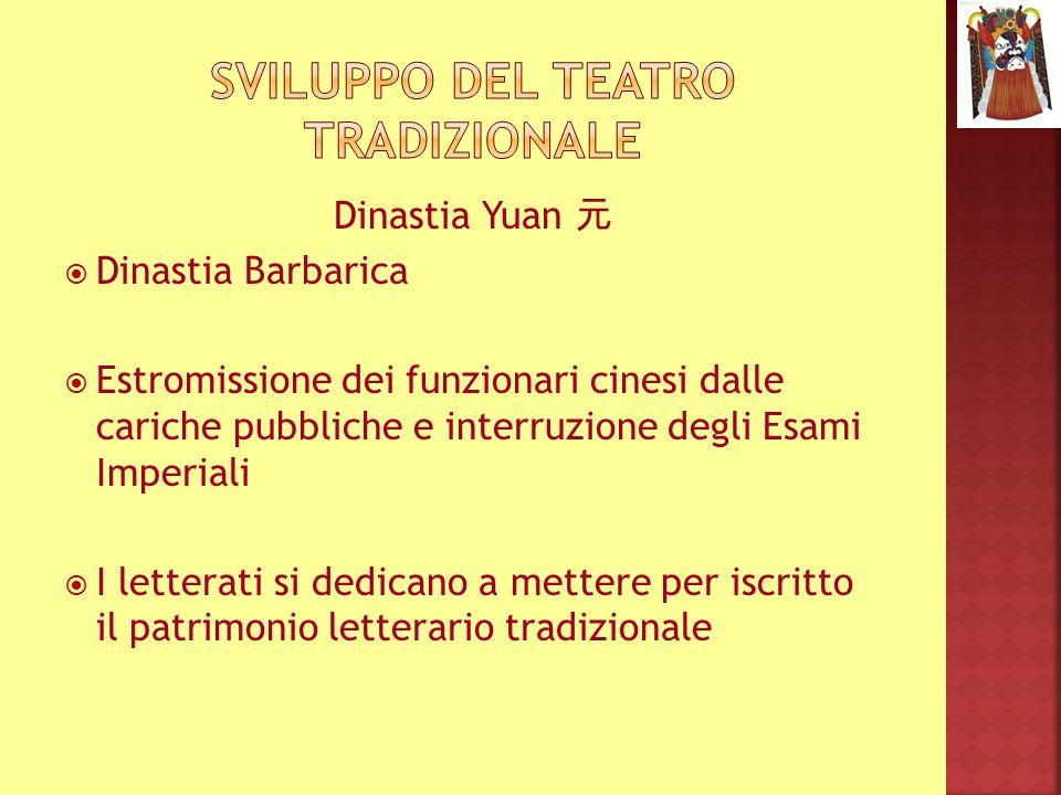 Specializzazione per ruolo Formazione completa attraverso tutte le discipline coinvolte: canto, recitazione, arte marziale, acrobazia e danza Trucco Scuole di Recitazione