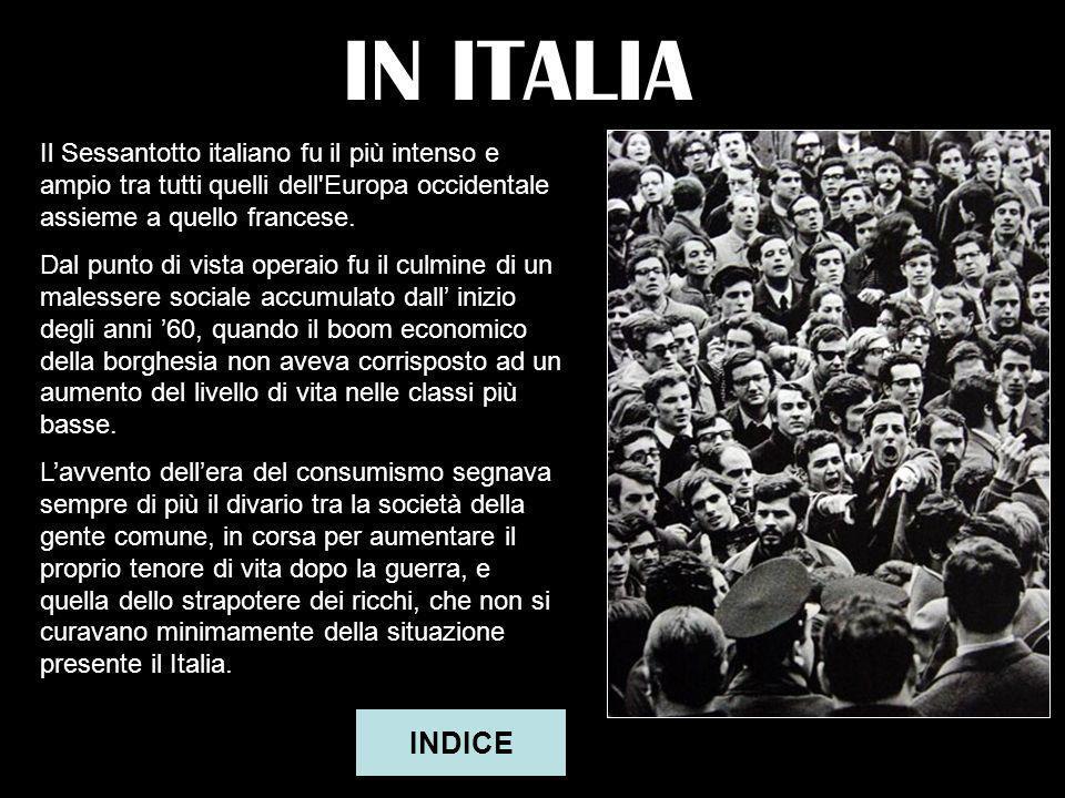 Valdagno – 9 aprile 1968 Scatta oggi uno sciopero che si protrarrà per quasi 10 giorni. A Valdagno, ai lanifici Marzotto, la manifestazione operaia as