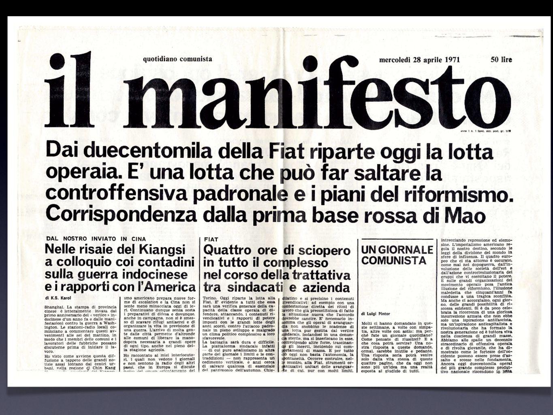 Fatto e commento Soggettività della scelta dellapertura del giornale Qual è la notizia del giorno.