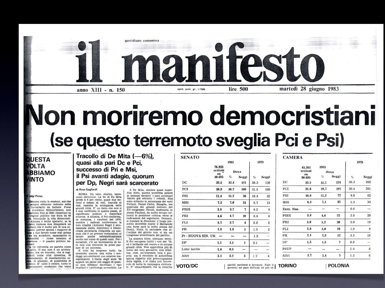 Il tabloid 1994, il giornale si dimezza: la copertina, il tabloid Un formato popolare su una tradizione elitaria Impaginazione: cade la divisione per sezioni Un formato adatto alla battaglia