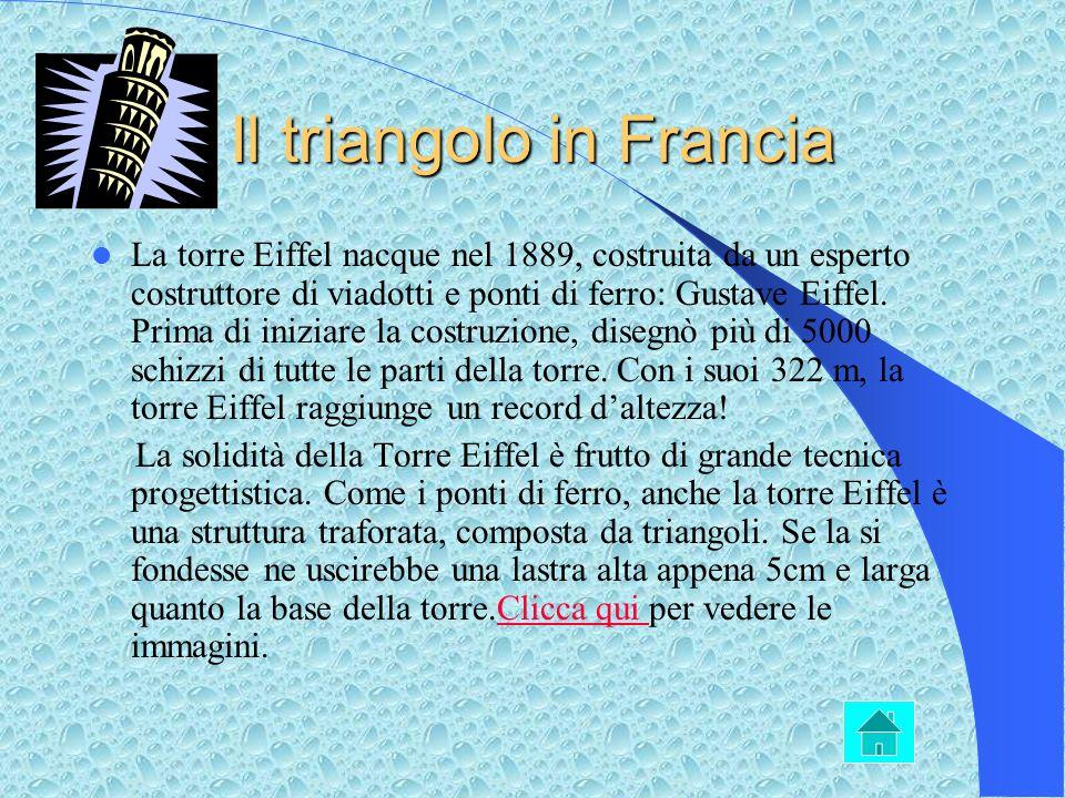 Il triangolo sulla strada I triangolo non sono solo oggetto di studio per quanto riguarda la storia, la geometria, la geografia ecc. ma anche una form
